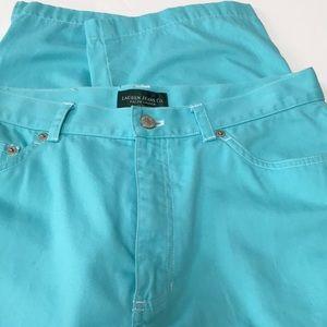 Ralph Lauren Jeans Co Cropped Pants 12P NWOT